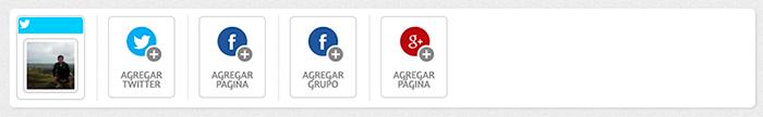 Redes sociales Postcron