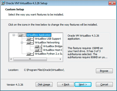 Paso 2 Instalación VirtualBox