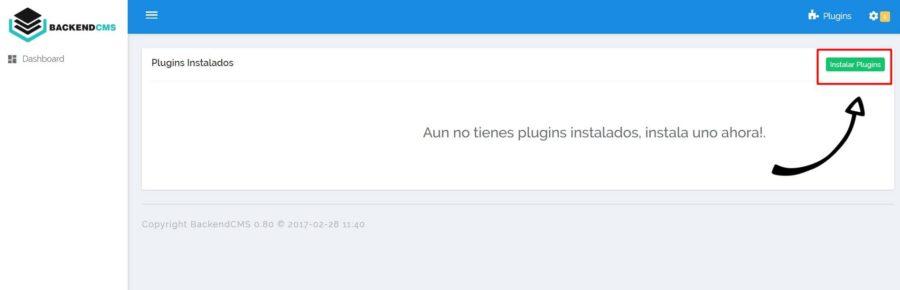 Instalar un nuevo plugin